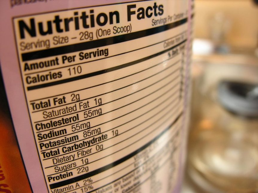 ¡Aprendiendo a leer etiquetasnutricionales!