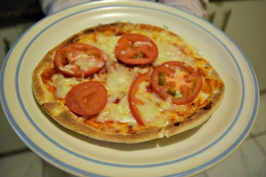 Pizza: Nutritiva, rápida yfácil
