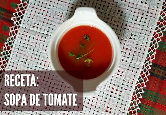 Una Deliciosa Sopa deTomate